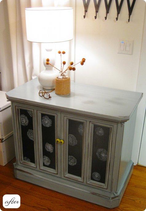Antes y despu s nueva vida para muebles recuperados - Recuperar muebles viejos ...
