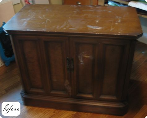 Antes y despu s nueva vida para muebles recuperados - Muebles viejos para restaurar ...