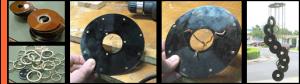 Cómo hacer una lámpara con CD
