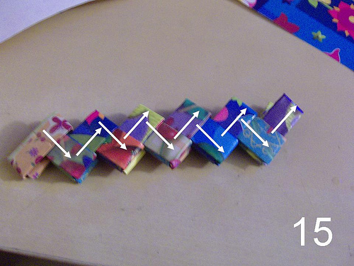 Cómo hacer bolsos con envoltorios paso a paso