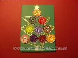 Felicitacion de Navidad con capsulas nespresso