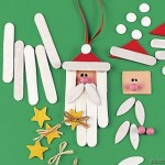 Papa Noel con palos de helado