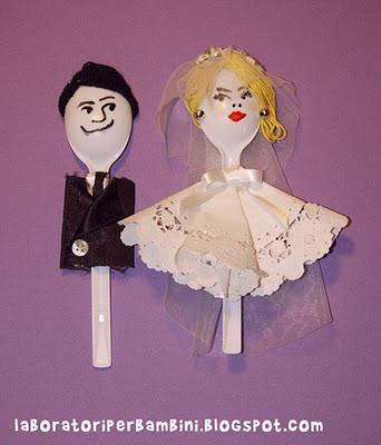 Adornos tartas de boda reciclados