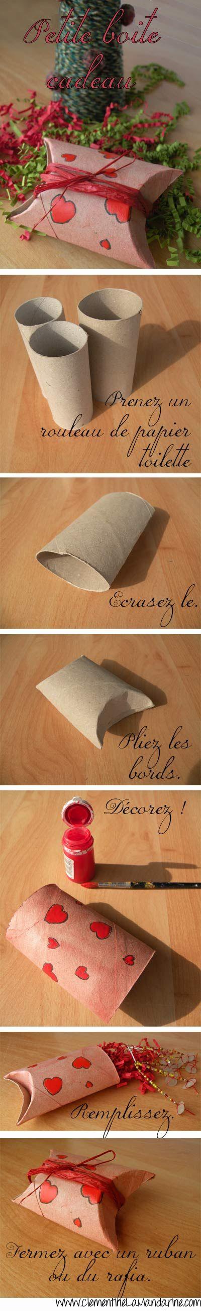 Cajas envoltorio para regalos con tubos de cartón