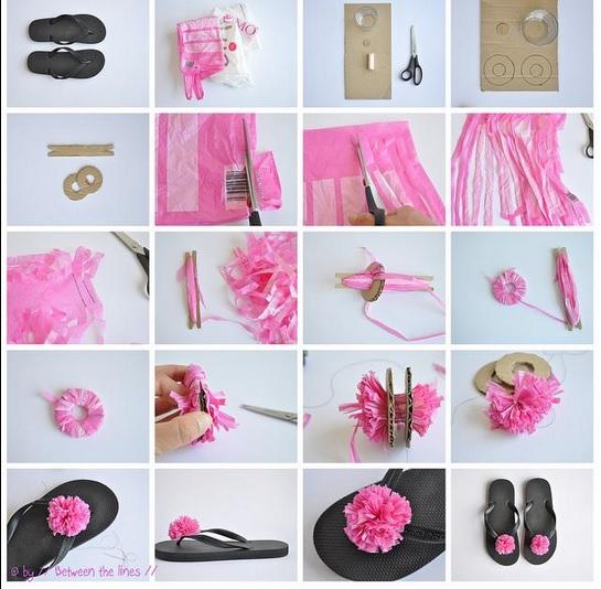 C mo hacer paso a paso flores con bolsas de pl stico para - Hacer bolsos de tela paso a paso ...