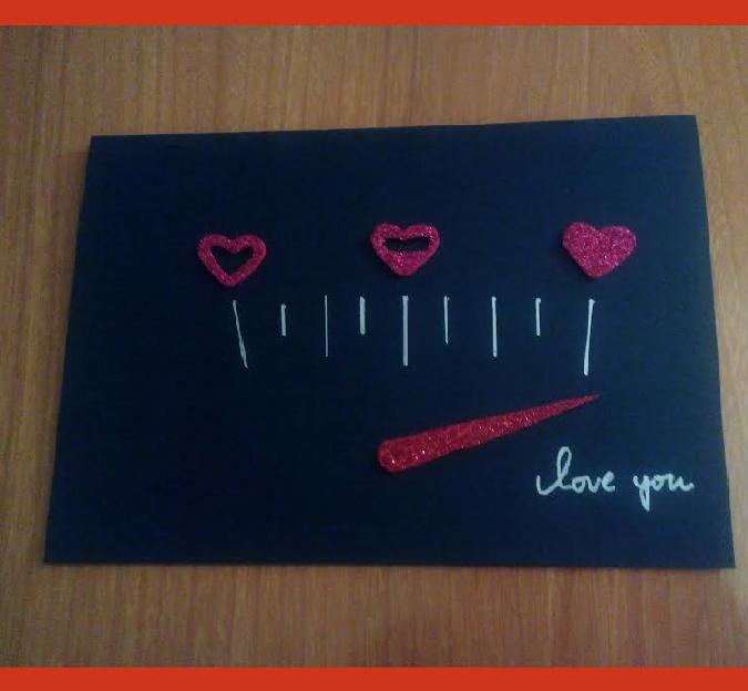 Felicitación San Valentín medidor de amor