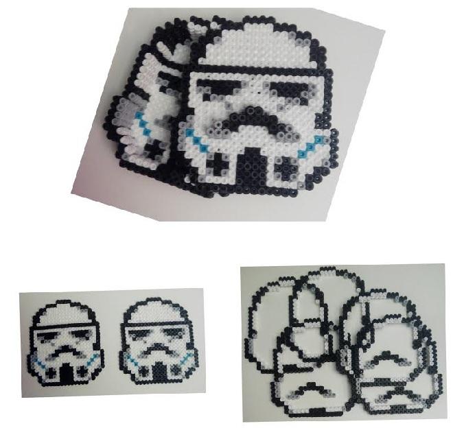 Piezas caja Clone ¨Trooper de Star Wars