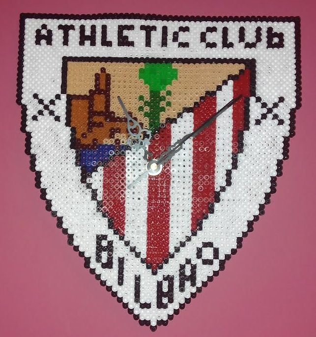 Reloj de pared del Athletic de Bilbao