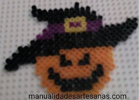 Piezas para hacer broche de bruja para halloween