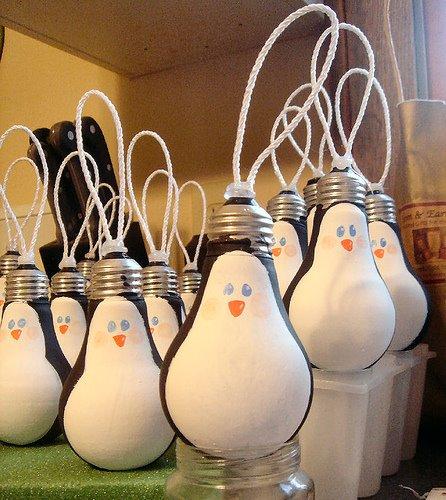 Bombillas de cristal: reciclaje y recicl-arte