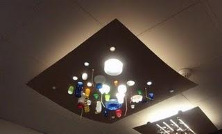 Manualidades de lámparas reciclables con botellas de plástico