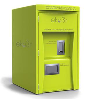 Eko3r, nuevo servicio de recogida del aceite doméstico en Mondragón