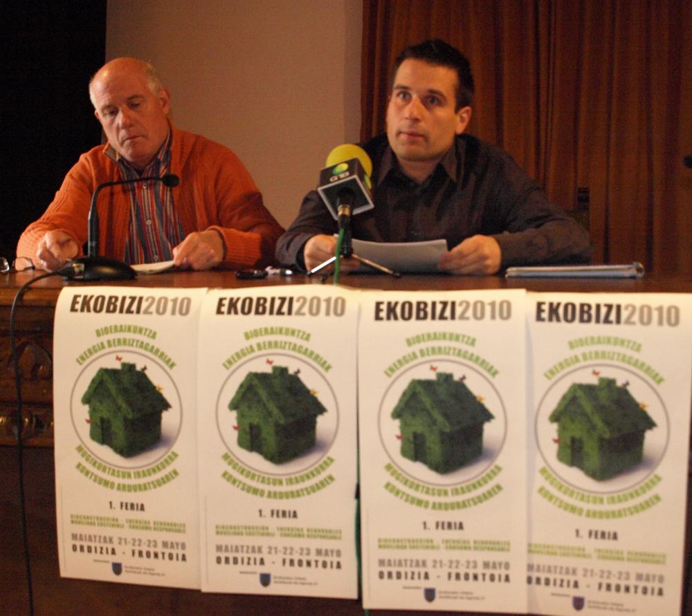 Nace en Ordizia la feria Ekobizi, dedicada a la bioconstrucción y a las energías renovables