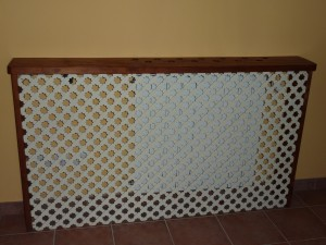 Reciclar muebles de madera - Hacer un cubreradiador ...