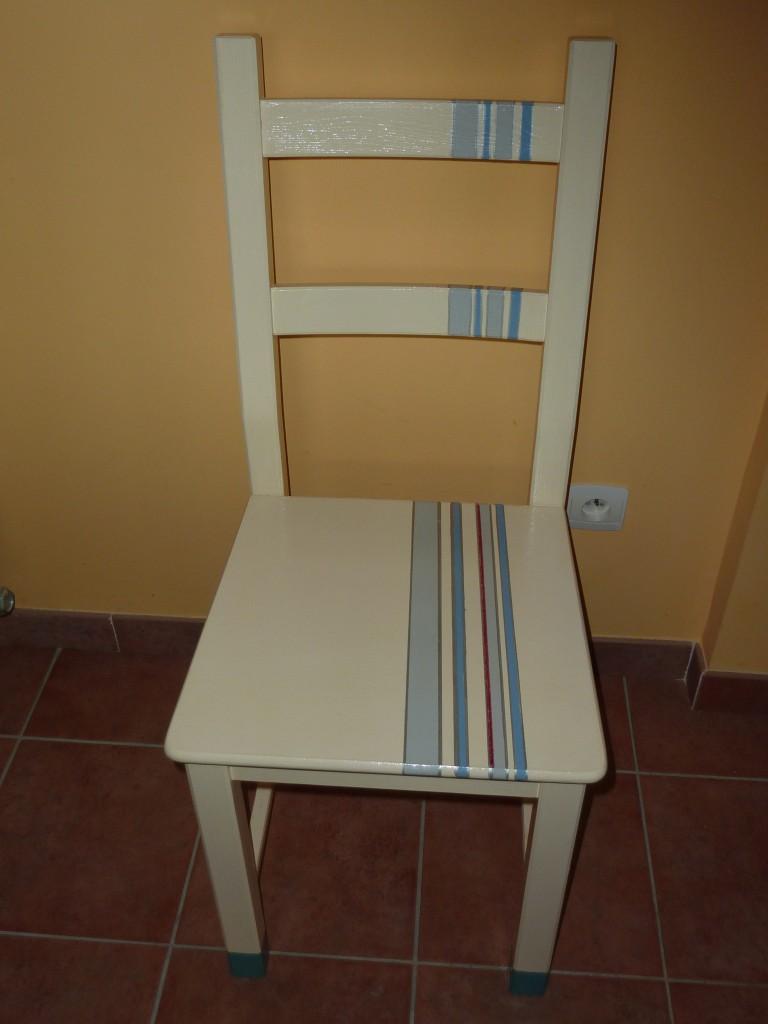 Tuneando sillas de cocina