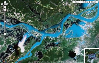 El Amazonas es la reserva de agua potable del mundo
