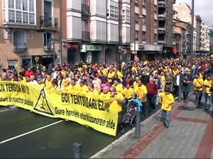 El proyecto de línea de alta tensión Vitoria-Castejón será modificado
