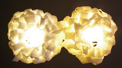 Lámparas con velcro