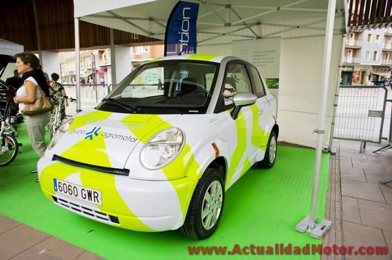 Ganadores Eco Rallye Vasco Navarro 2012 Copa FIA de Energias Alternativas