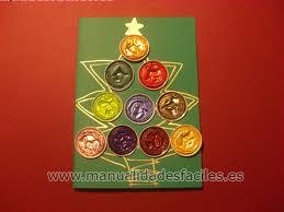 Felicitación de Navidad con capsulas nespresso