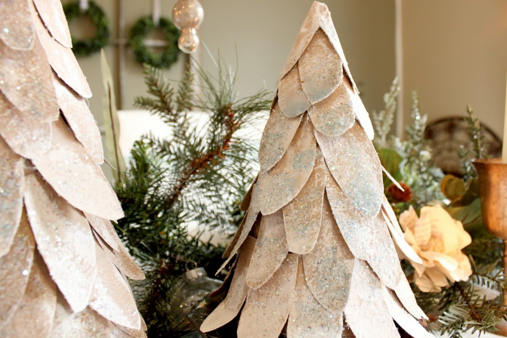 Árbol de Navidad para decorar la mesa