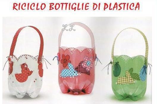 Reciclaje botellas plastico - Manualidades recicladas para decorar ...