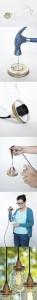 Cómo reutilizar tarros de cristal en lámparas