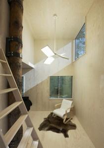 Habitación en hotel en copa de árbol