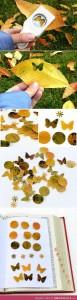 Perforadoras de formas decorativas con hojas de árboles
