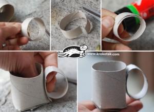 Tutorial tazas tubo papel higiénico