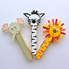Manualidades de animales con pinzas de madera