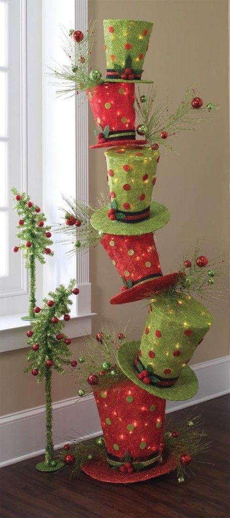 C mo hacer una rbol original de navidad con cart n - Como hacer una felicitacion de navidad original ...