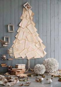 Árbol de Navidad con facturas caducadas