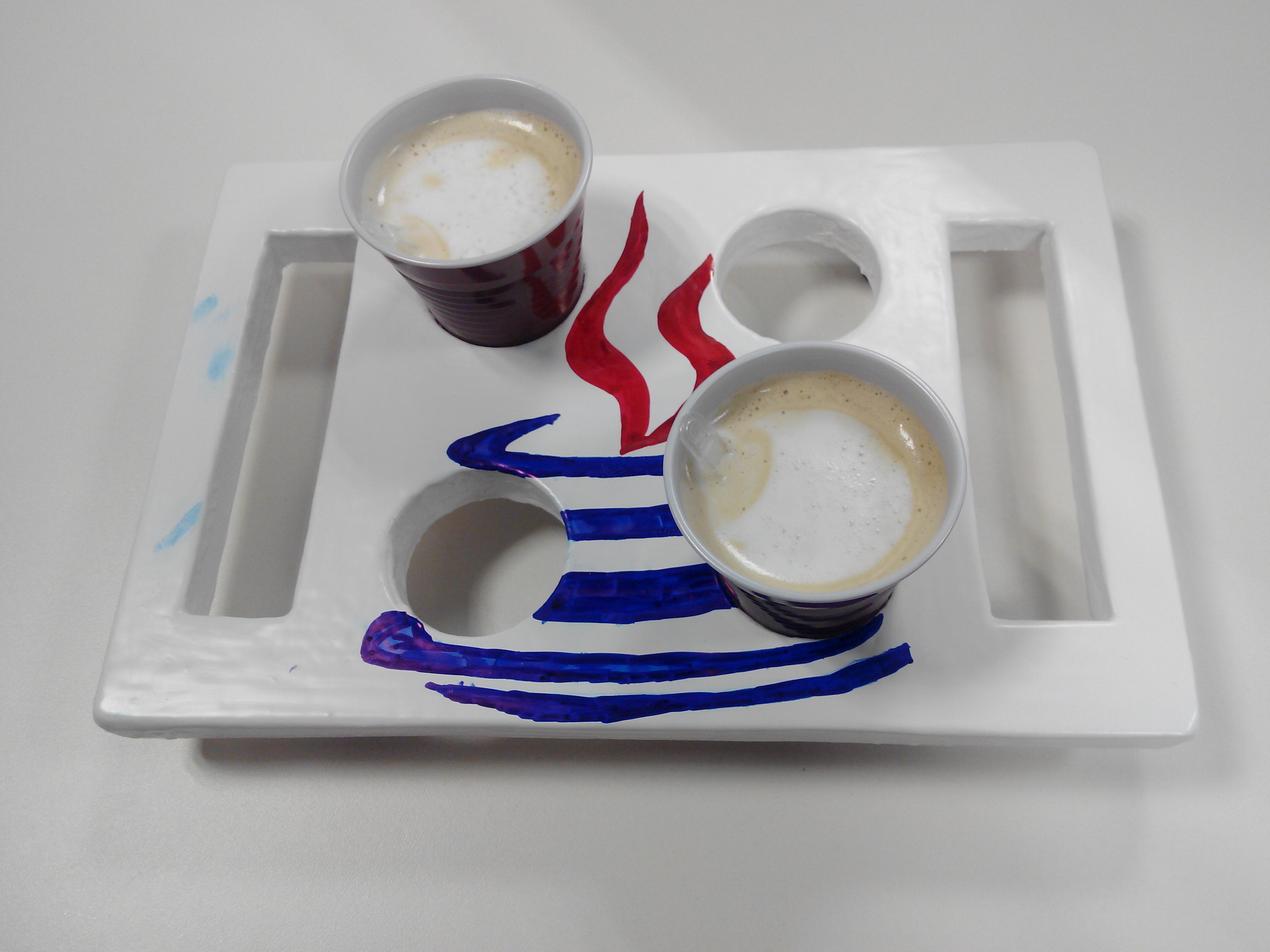 Bandeja A Medida De Caf S Con Madera Reciclada Manualidades  ~ Manualidades De Madera Reciclada