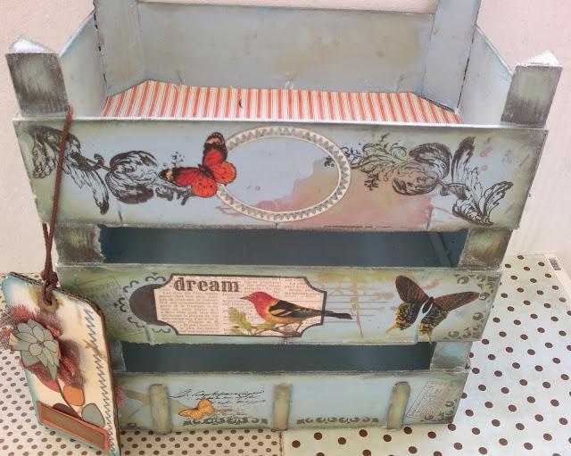 Ideas para reutilizar las cajas de la fruta en obras de arte - Decorar cajas de madera de frutas ...