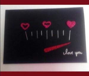 Felicitación San Valentín con medidor de amor
