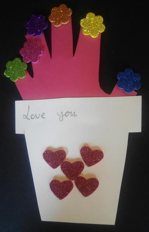 Tarjeta postal con amor para regalar en cualquier ocasión