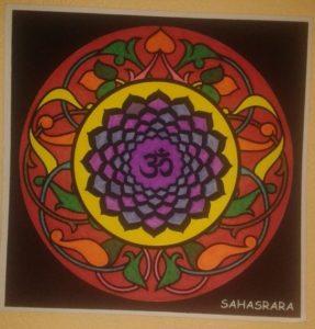 Mandal séptimo chakra sharara el de la conciencia universal