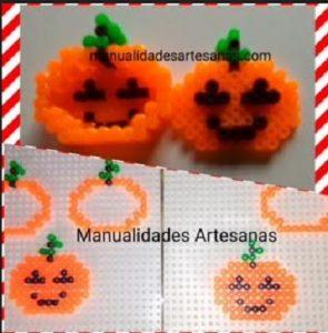 Decoración para halloween: caja forma calabaza