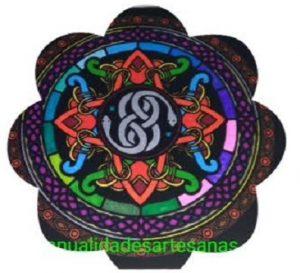 Mandala símbolo celta wuivre