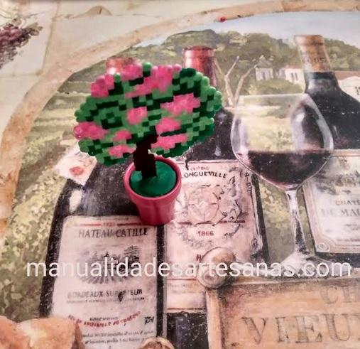 Mini arbusto de China de rosas de hamabeads mini