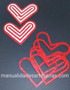 Piezas caja corazón del Athletic Club de Bilbao