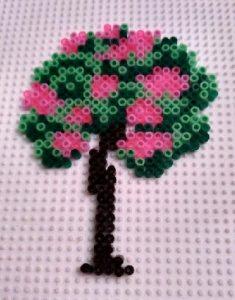 Tablero para hacer mini arbusto de rosas