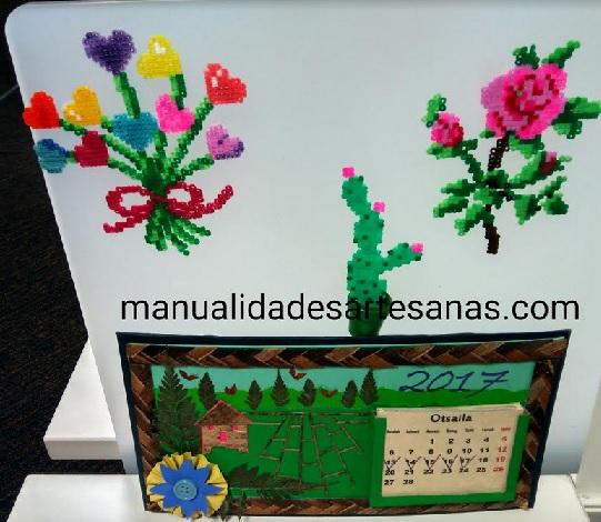 Como hacer cactus para decorar en la mesa del trabajo