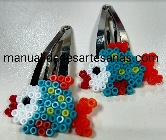 Horquillas de peces de colores
