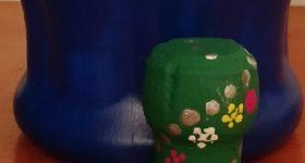 Árbol de Navidad mini hecho con corcho de champán para adornar