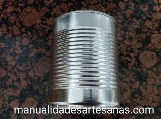 Lata de aluminio de conservas