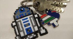 Llavero de R2-D2 de Star Wars para regalar el día de Star Wars