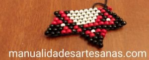Estrella de David con brick stitch