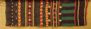 Patrón de brazalete de colores alegres